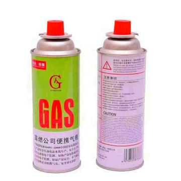 Heat Resistance Round Shape Portable Butane Gas Cartridge 250g and Butane Gas Canister