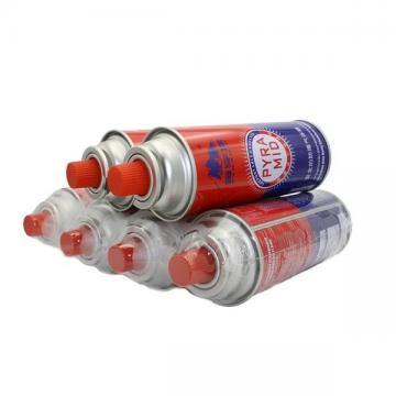 Butane Canister Refill Round Shape Portable butane gas cartridge can for portable gas stove
