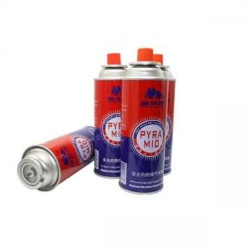 Cylinder for camping stove empty 220gr butane gas cartridge and camping gas butane canister refill