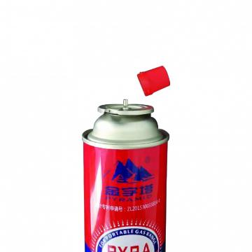 190g 220g 250g Made in china the empty mint tin butane gas canister and aerosol cans
